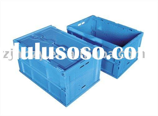 plastic folding container