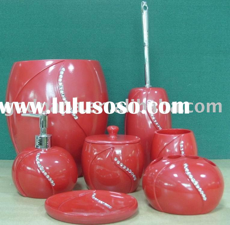 Top Red Bath Accessories Sets 765 x 749 · 91 kB · jpeg