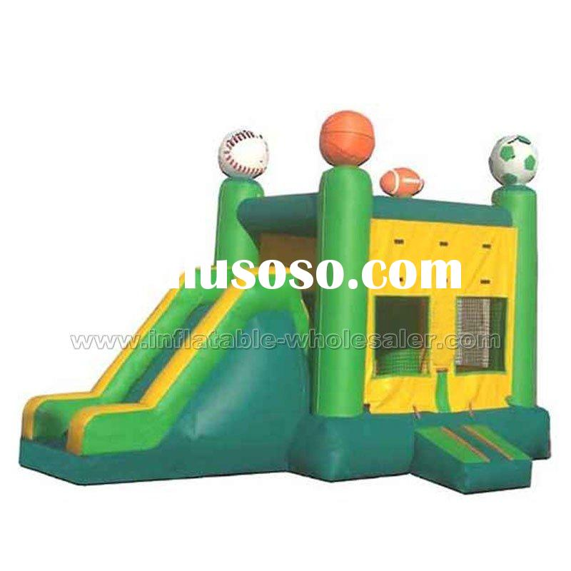 sports game fun slide