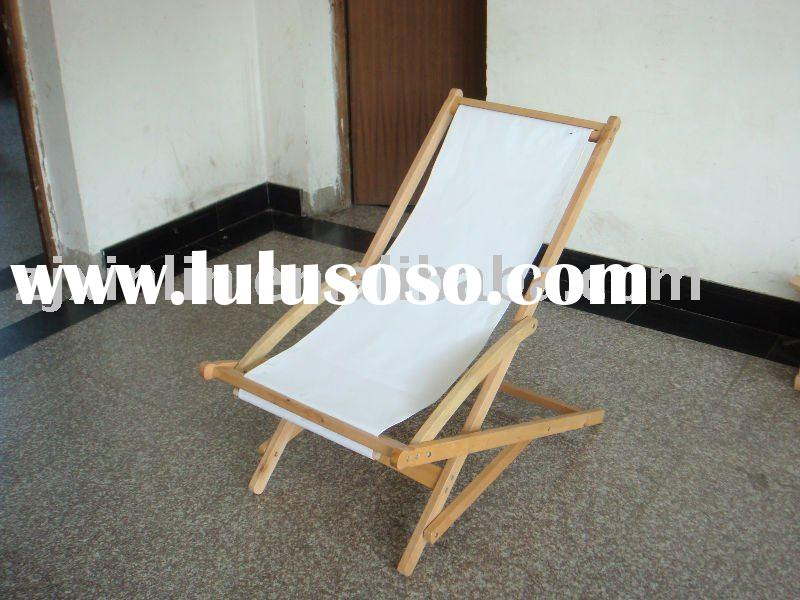 wood  folding beach chair,rocking chair