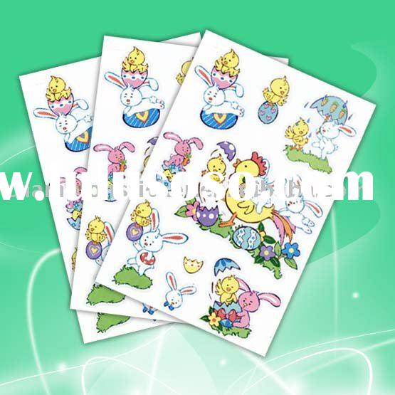 2010 PVC Easter sticker