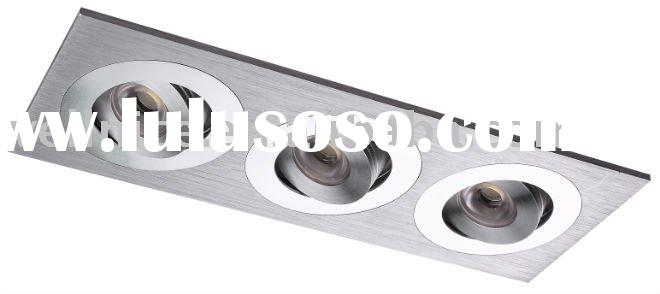 3x1W led recessed lamp,down light,ceiling mouted lighting fixture