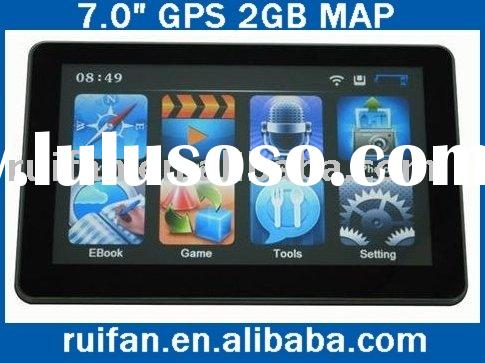 "7"" HD Touch Car Navigation Map GPS FM MP3 2GB Bluetooth"