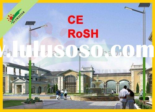 CE RoHS approval 120w Cree LED solar street lights