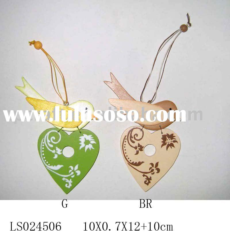 Craft decorative wood bird