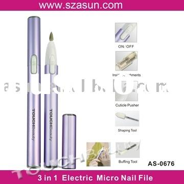 Electric Manicure nail file  set