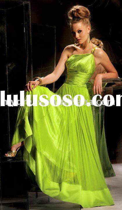 Green Holiday Cocktail Evening Dresses