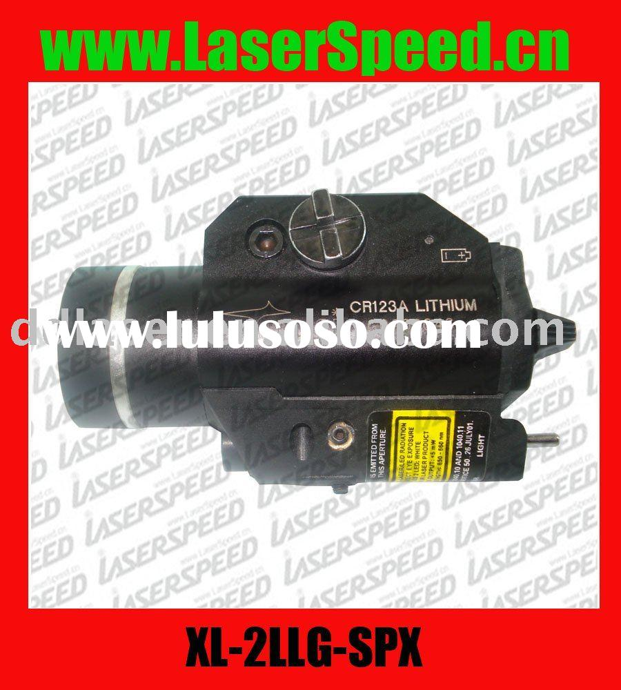 Green Laser and CREE light combo for handgun