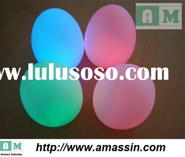LED promotion products of 2010,Colorful Color Easter eggs