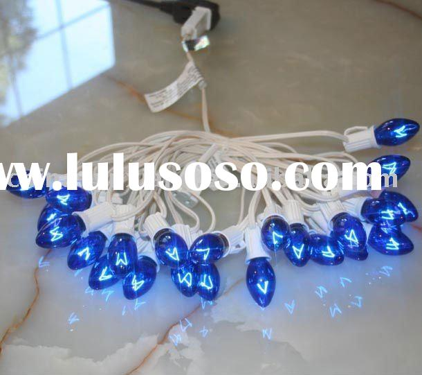 Led holiday string lights