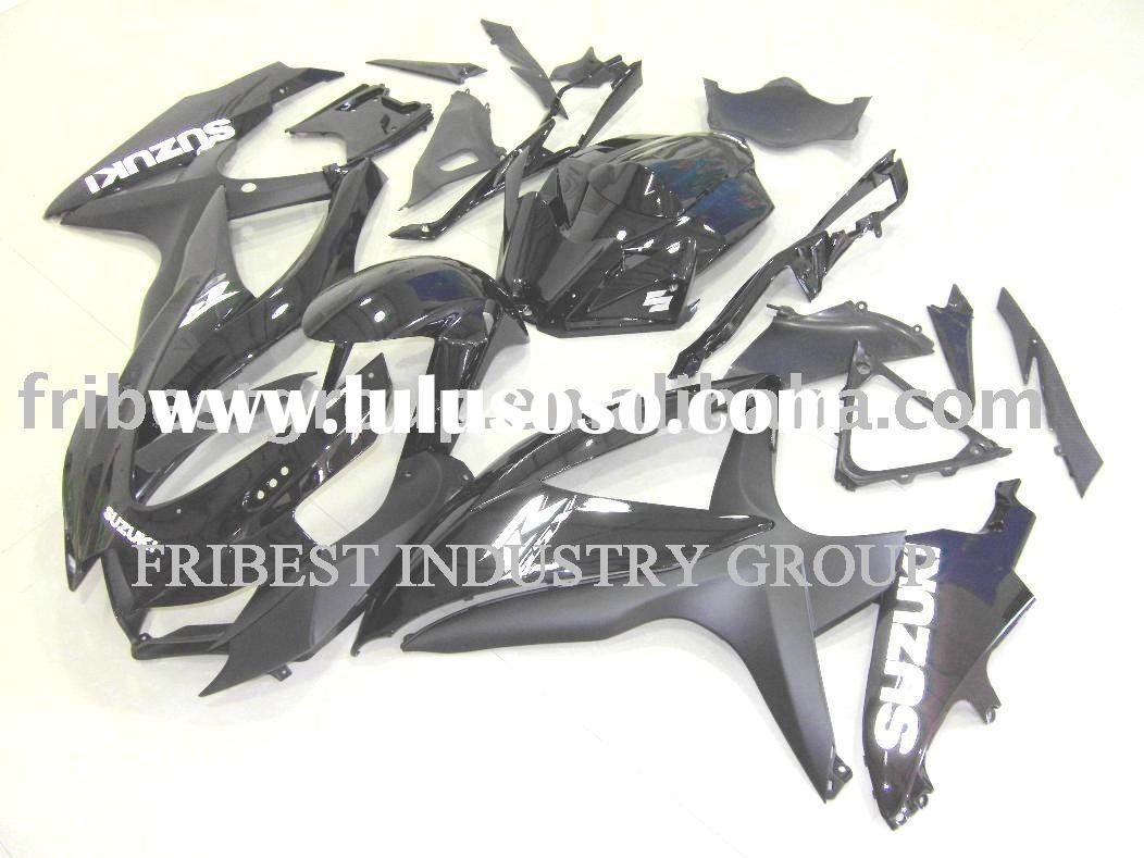 Motorcycle fairing kits for SUZUKI GSXR750 600 08-09 BLACK