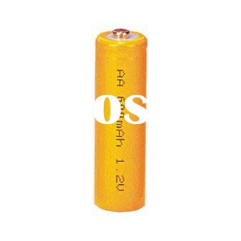 NiCd AA 600mAh rechargeable battery