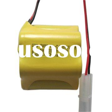 Ni-Cd rechargeable batteries for solar light