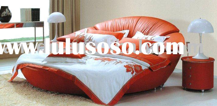 Round Leather Beds 713 x 350