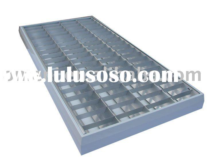 T8/LED Recessed Grid Lighting Fixture