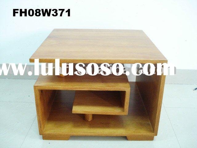 Wood antique tea table for home furniture
