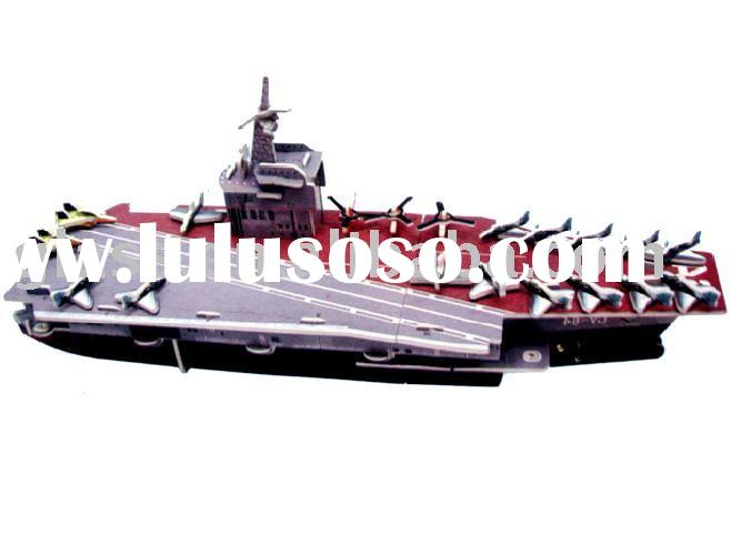 Wooden Boat Aircraft Carrier