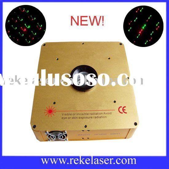 mounted red and green multi-effects laser light show projector