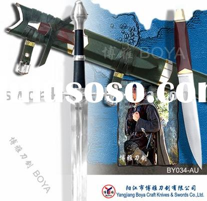 "movie swords / the lord of the ring sword / medieval sword / 50 3/4"" BY034-CU"
