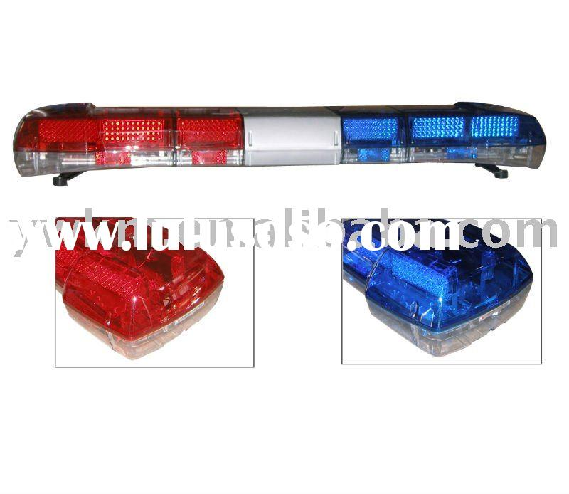 police car LED light bar