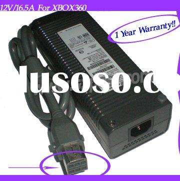 12V/ 16.5A 198W power supply AC/dc Adapter for XBOX360 CE&Rohs