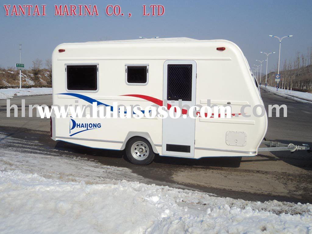 Non-decorated travel trailer,camping trailer,2011 NEW design