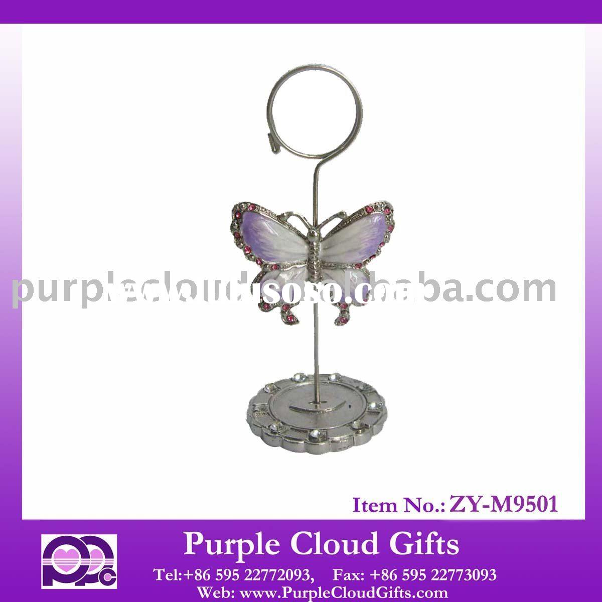 butterfly place card holder,wedding favor