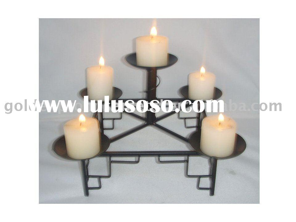 five bowl candle holder