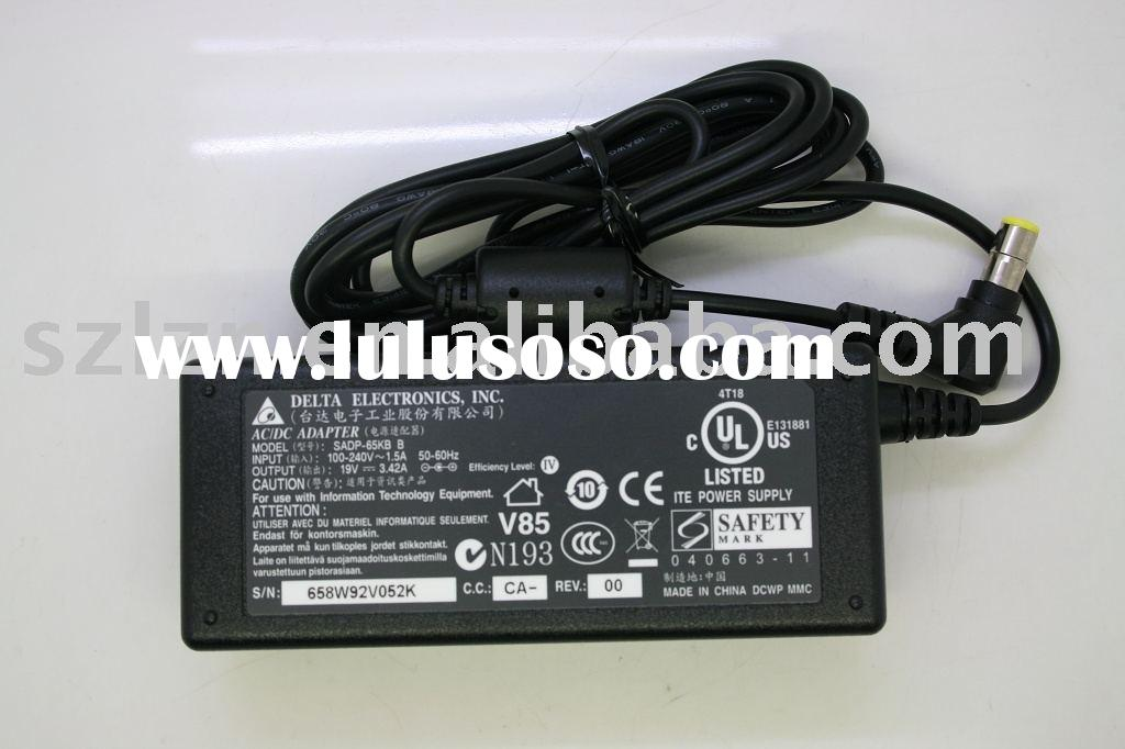 laptop battery charger, ac adapter for DELTA 19V-3.42A charger