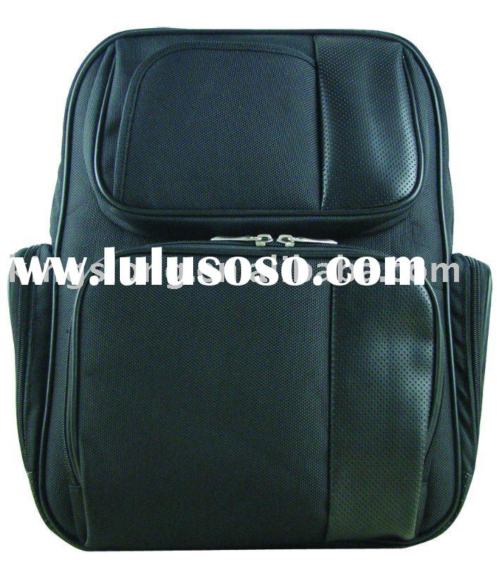 leather&PU Laptop Backpack