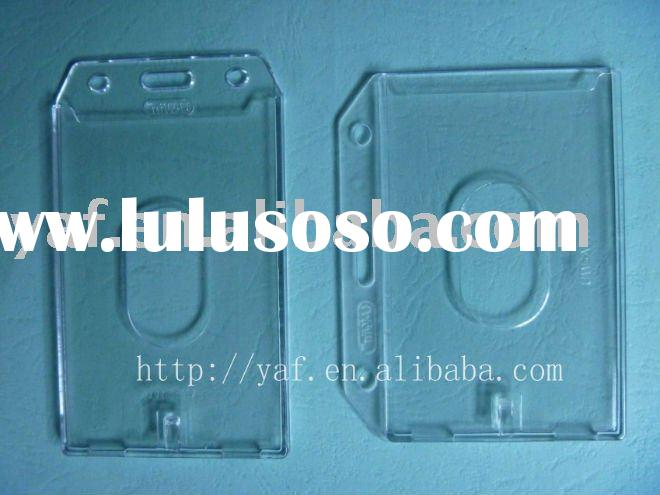 plastic ID card holder