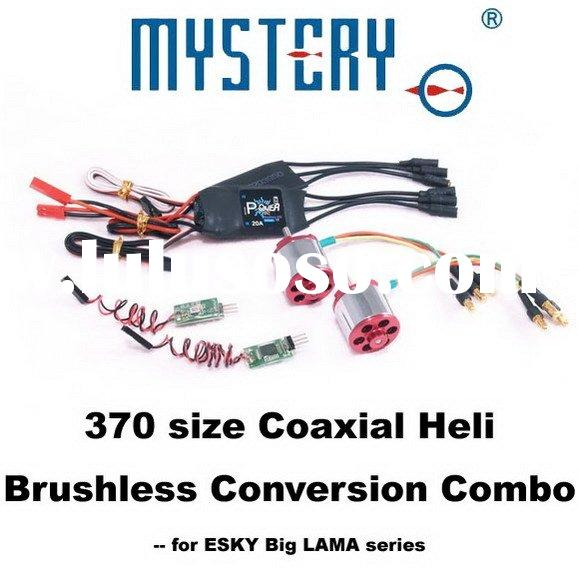 370 Size Coaxial Heli Brushless Conversion Combo  for ESKY Big lama Series, esky rc helicopter