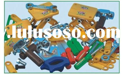 Children's plastic working tools model toys