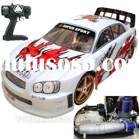 Gas cars - Nitro Cars - RC Hobbies - Model Cars : 1:7 RC Gas Powered Car,21 Engine