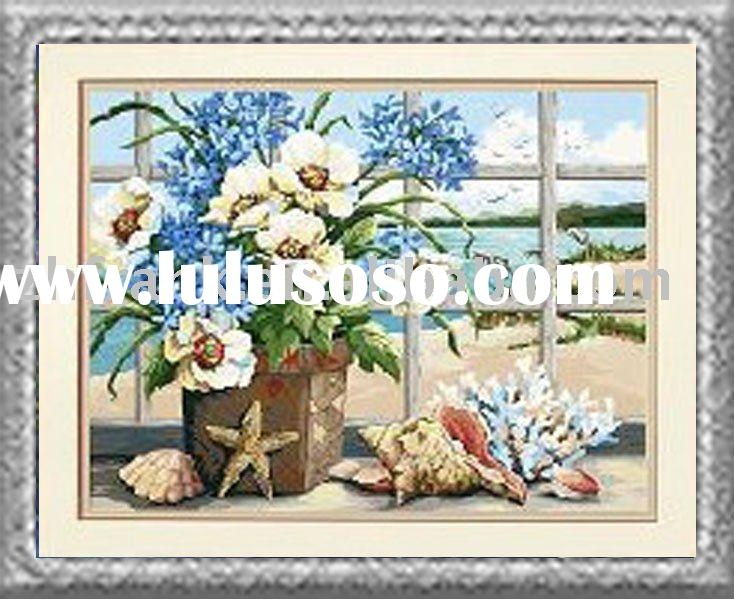 Hobby Craft /Painting by Number / Seaside still Lift