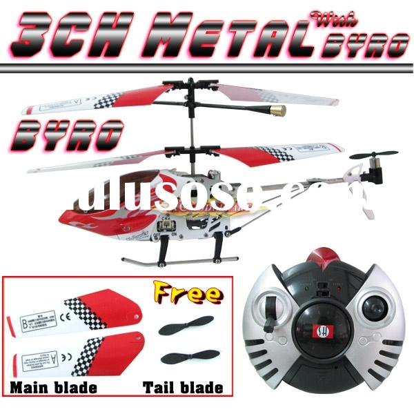 Metal Frame/Gyro 3ch Micro RC Mini Helicopter