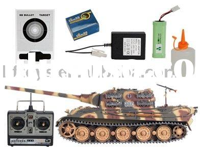 R/C Hobby Tank 1:16 scale model tanks With Smoking,Jagdtiger rc shooting tank(7.2V1200MAH)