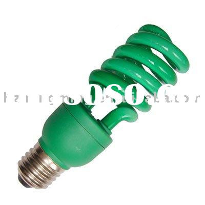 T3 Half Spiral Colour Energy Saving Lamps