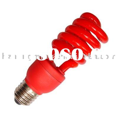 T3 Half Spiral Red Energy Saving Lamps
