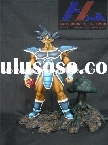 dragonballz resin action figures Bardock