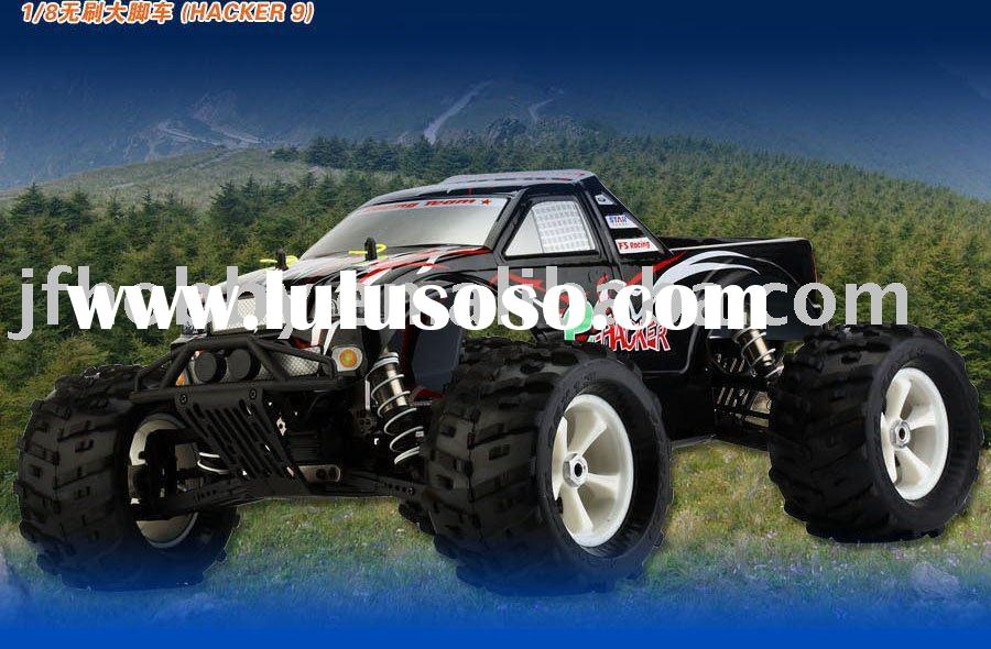 rc electric car  e-HACKER---1:8 Brushless 4WD monster truck