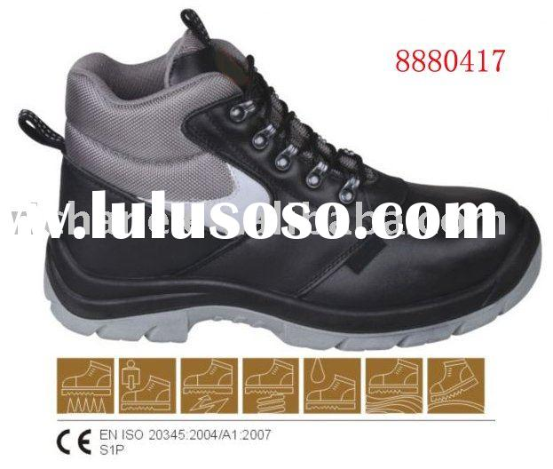 8880417 CE Standard Steel toe Industrial Leather Safety Shoes