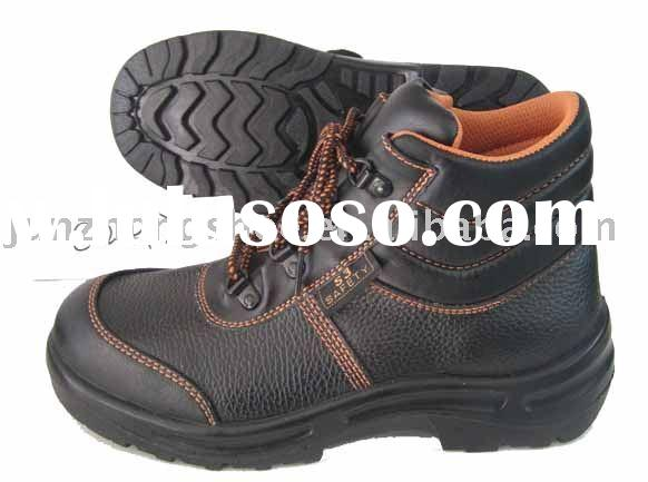 Action leather safety shoes