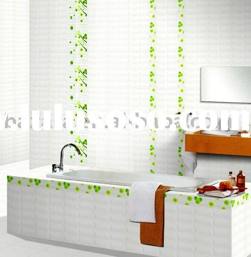 CERAMIC TILE, BATHROOM WALL TILE,WHITE WALL TILE,CERAMIC FLOOR TILE,GLAZED CERAMIC TILE,GLAZED TILE.