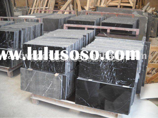 China black marble tile