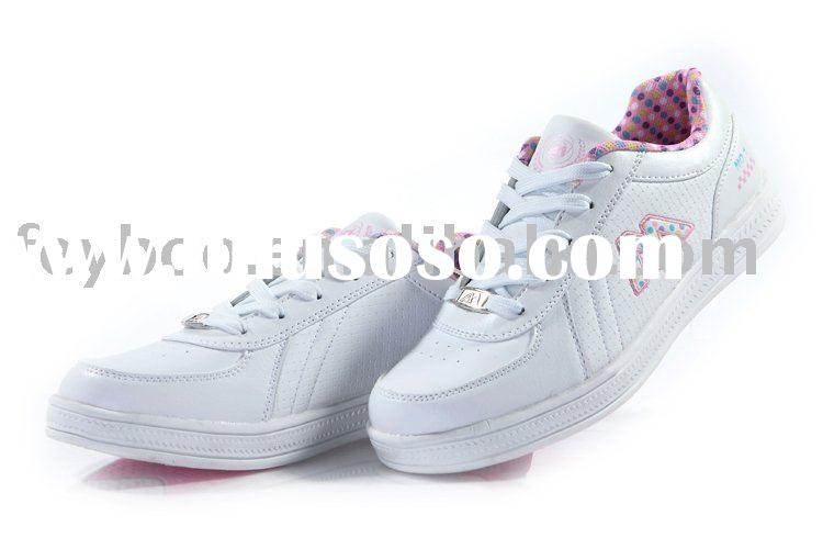 Hot!! 2011 new fashion girls skateboard shoes