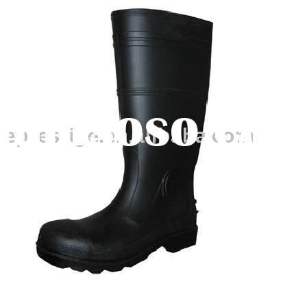PVC safety rain boot