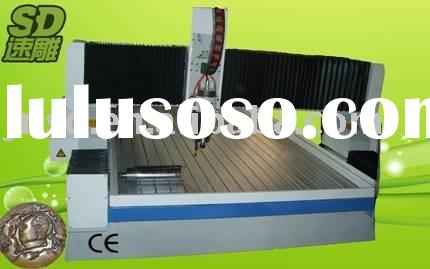 SD-1224 marble stone cnc cutting machine of engraver with air-cooling spindle