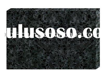 Silver Black Quartz Countertops