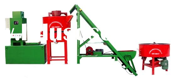 concrete roof tile press